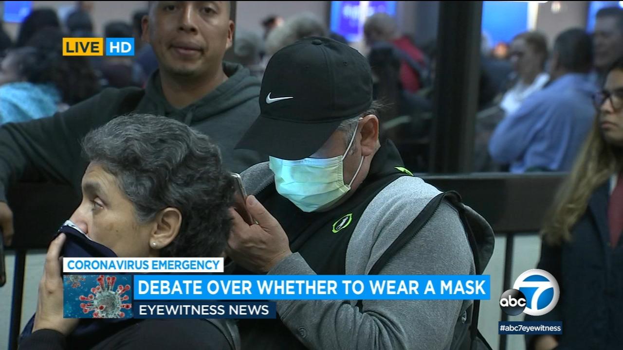 corina virus maske