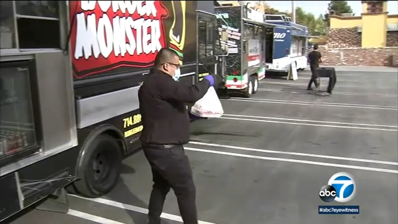 Laguna Beach restaurant turns parking lot into food truck drive-thru