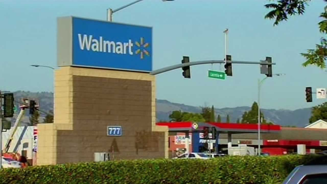 A 4-year-old girl was smashed over the head with a crowbar while shopping with her dad at the Walmart on Story Road in San Jose.