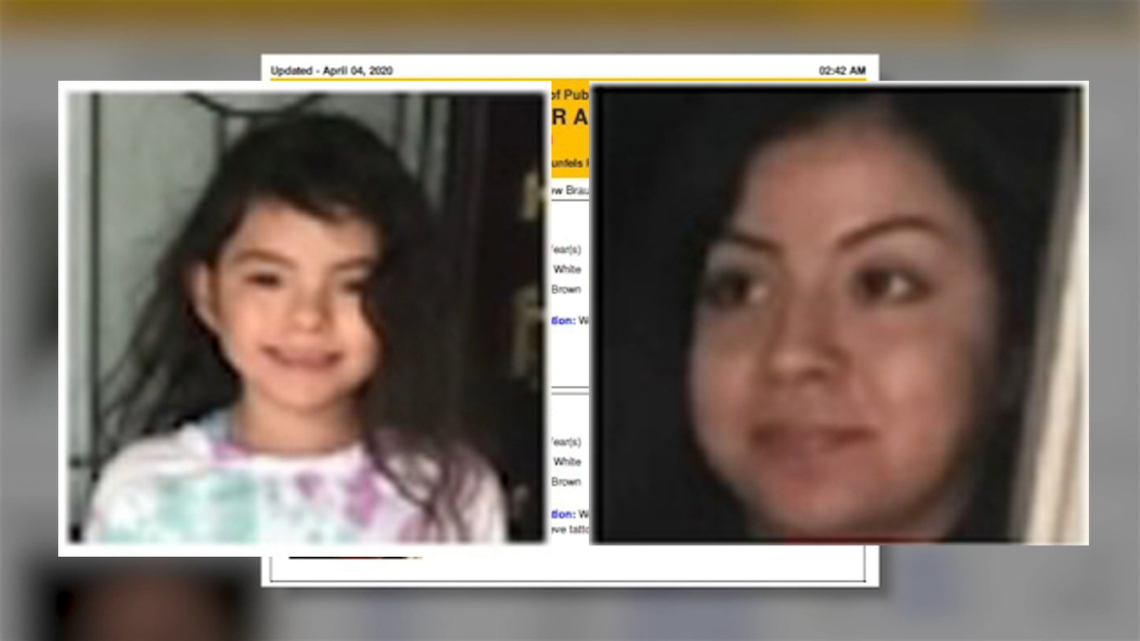 Amber Alert Issued For Kiley Marie Diaz In New Braunfels Texas Abc13 Houston