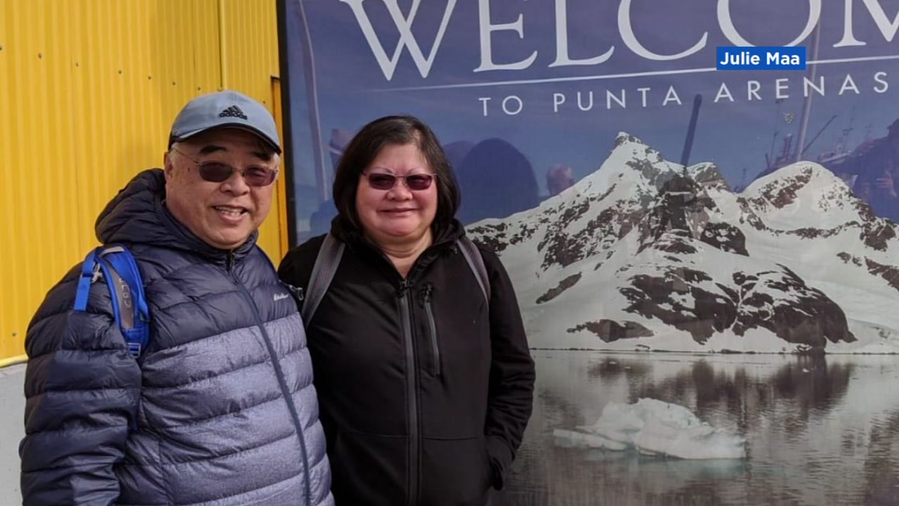 Wilson Maa, 71, contracted the coronavirus while on board a Princess cruise ship traveling around South America.