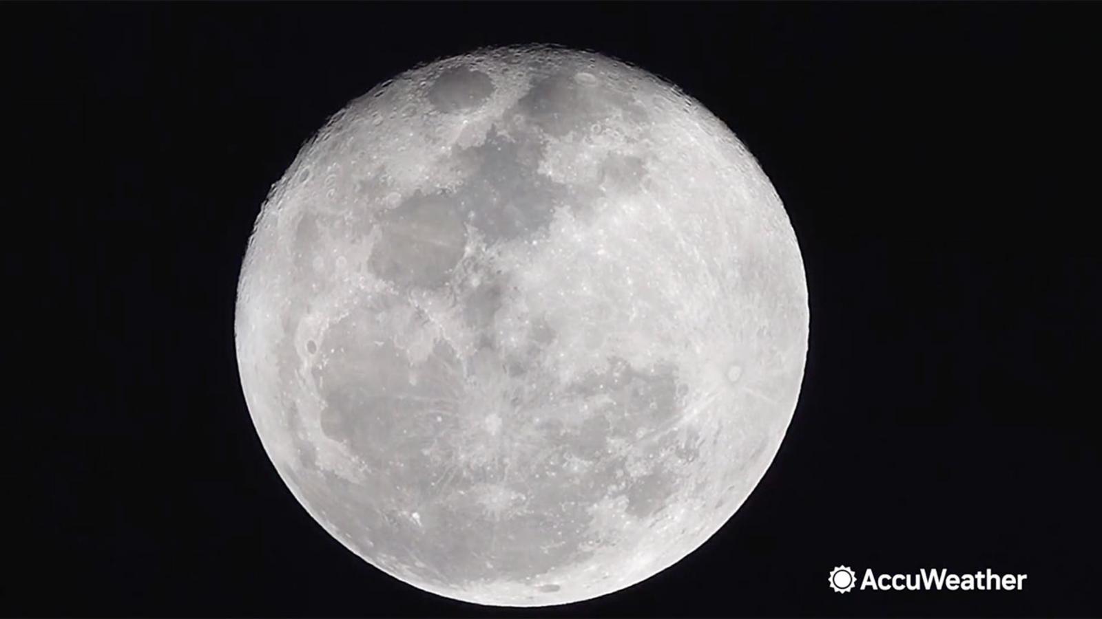 Pink moon: 1st supermoon of 2021 lights up night sky starting Monday
