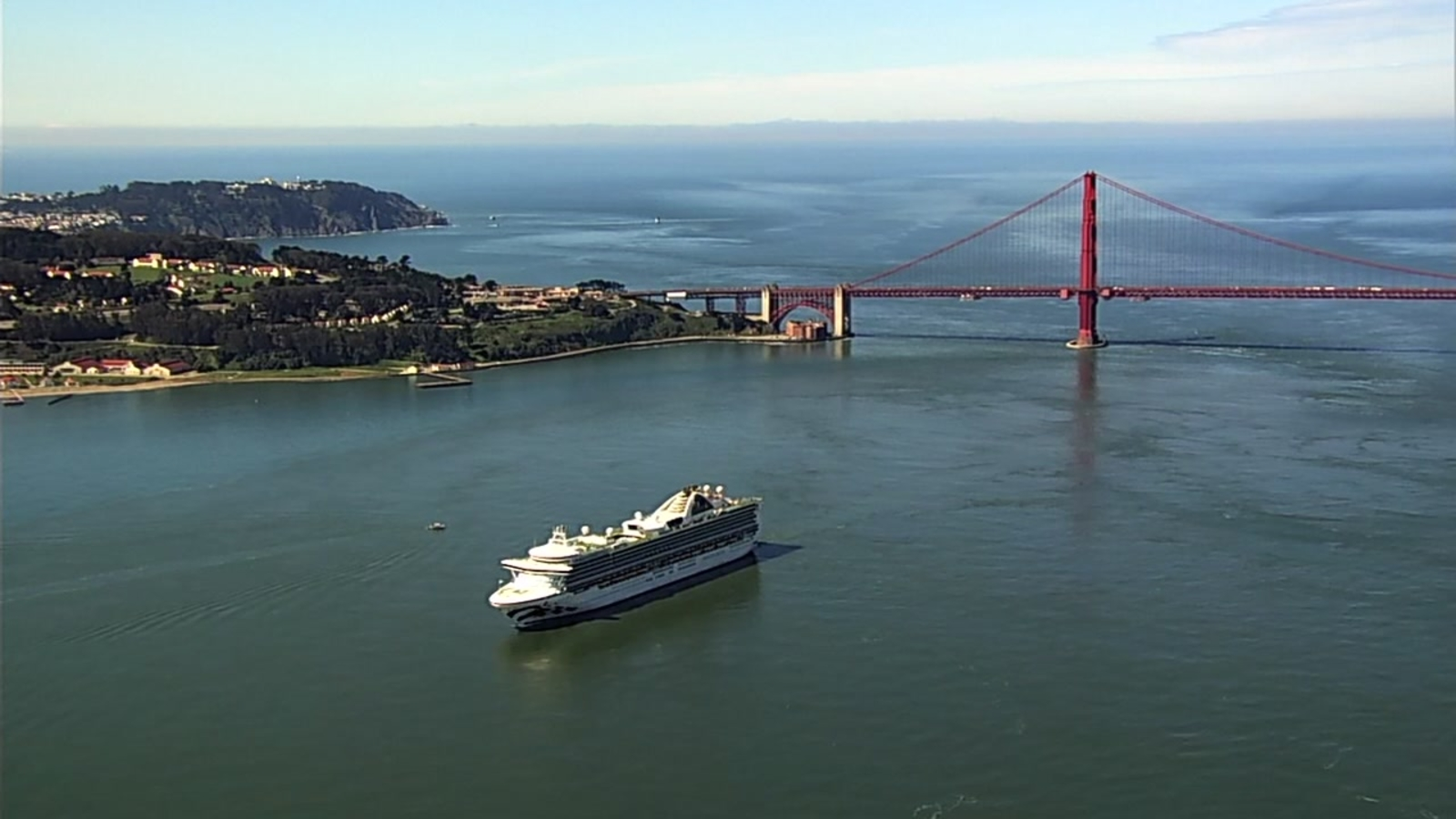 Coronavirus: Grand Princess returns to San Francisco to restock supplies, activists worried about crew members