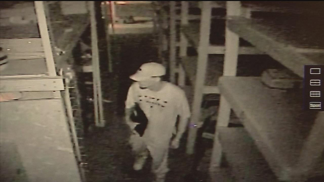 Suspected burglar arrested after CCTV finds him returning