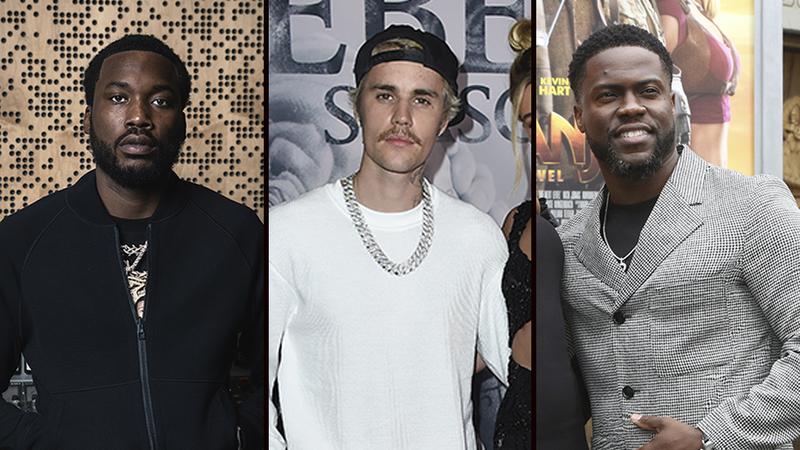 All In Challenge: Meek Mill donates Rolls-Royce, Justin Bieber ...