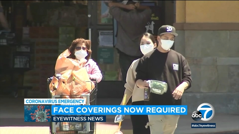 Coronavirus Face Coverings Mandate Goes Into Effect At Los Angeles County Businesses Abc7 Los Angeles