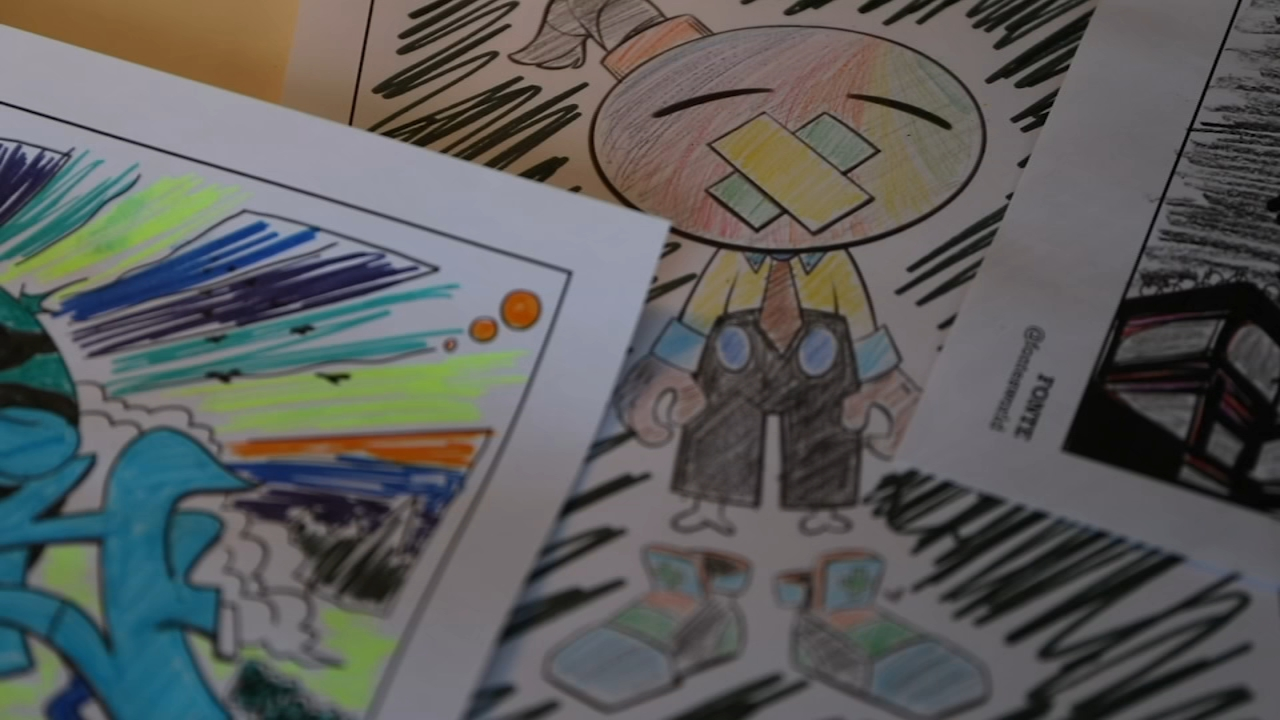 - Artists Collaborate To Create COVID-19 Coloring Book,