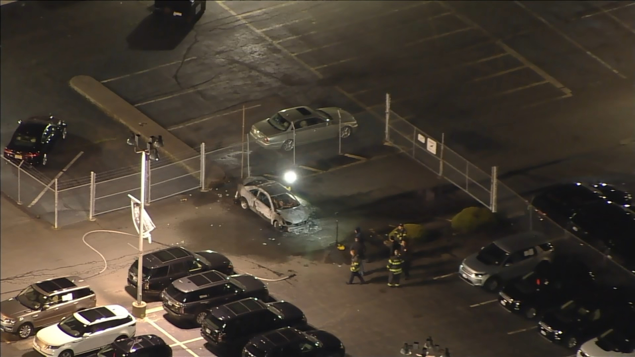 Body Found Inside Burning Car At Auto Dealership In Camden County New Jersey 6abc Philadelphia