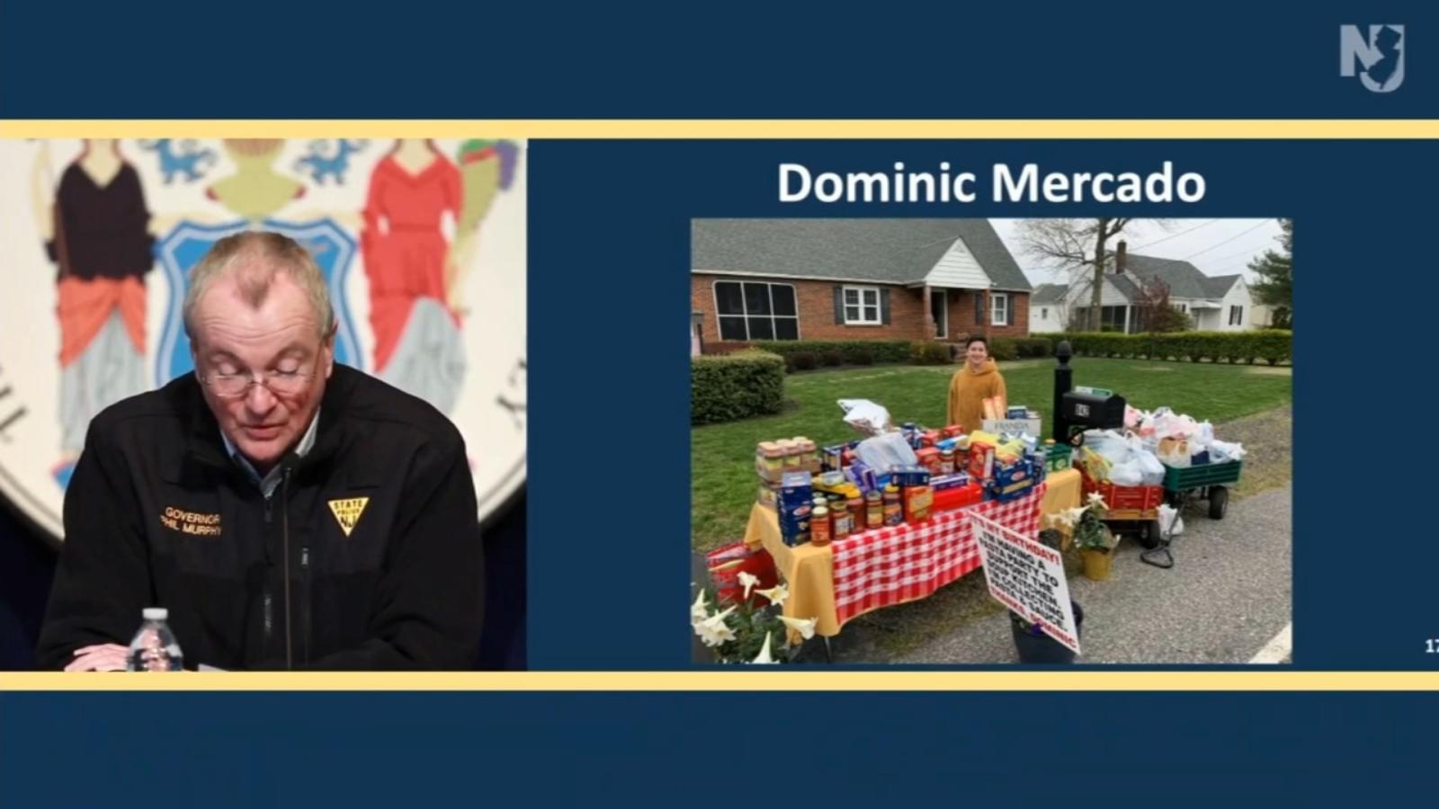 Coronavirus Nj Gov Murphy Commends 12 Year Old New Jersey Birthday Boy Asking For Donations To Vineland Soup Kitchen 6abc Philadelphia