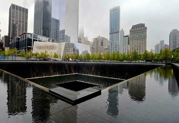 "<div class=""meta image-caption""><div class=""origin-logo origin-image ""><span></span></div><span class=""caption-text"">The entrance to the National September 11 Memorial Museum is shown. (AP Photo/Mark Lennihan) (Photo/Justin Lane)</span></div>"