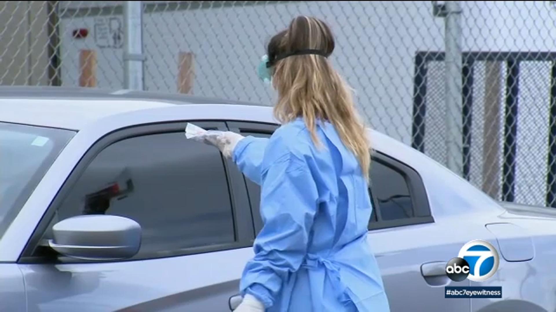 Los Angeles Free Testing Every County Resident Eligible For Coronavirus Test Regardless Of Symptoms Garcetti Says Abc7 Los Angeles