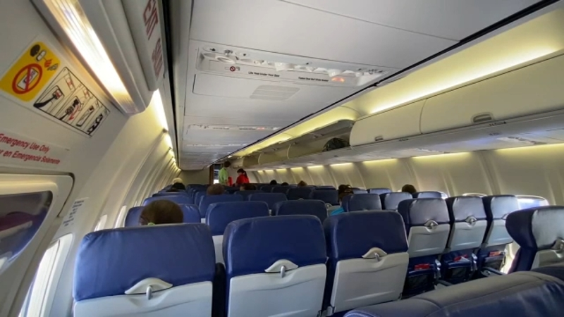 Coronavirus Plane Capacity Delta Airlines Cuts Nearly Half Of Its Seats To Space Out Passengers Abc7 San Francisco