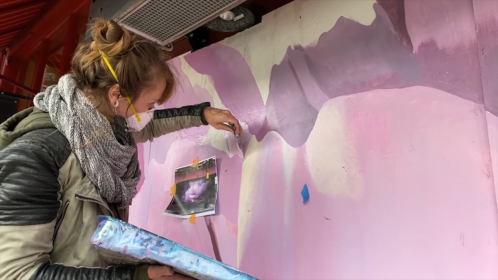 Bay Area artists uplift community through painted murals in project 'Paint the Void'