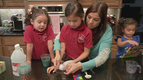 """<div class=""""meta image-caption""""><div class=""""origin-logo origin-image none""""><span>none</span></div><span class=""""caption-text"""">Patricia Lopez making Easter eggs with her girls (KTRK Photo)</span></div>"""