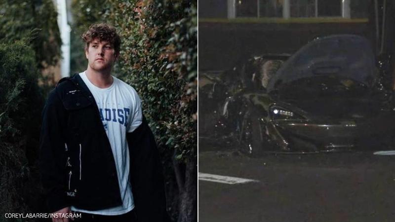 Corey La Barrie Death Tattoo Artist Daniel Silva Arrested In Fatal Valley Village Crash Abc7 Los Angeles