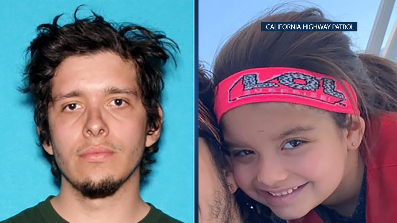 The CHP has issued an Amber Alert for 5-year-old Victoria Suarez who was last seen with her father, Jose Alberto Suarez, in the North Hollywood area.