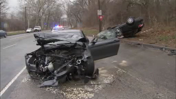 3 Hurt In Crash On MLK Drive