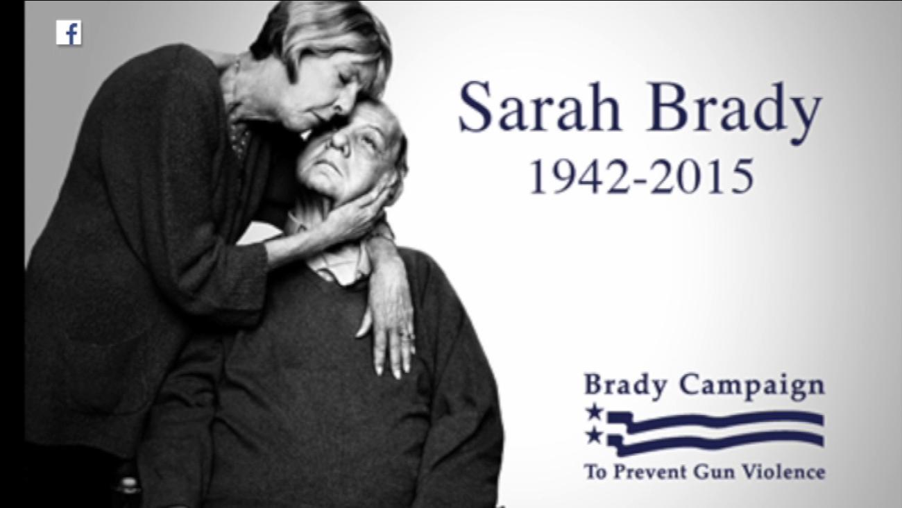 sarah brady dead