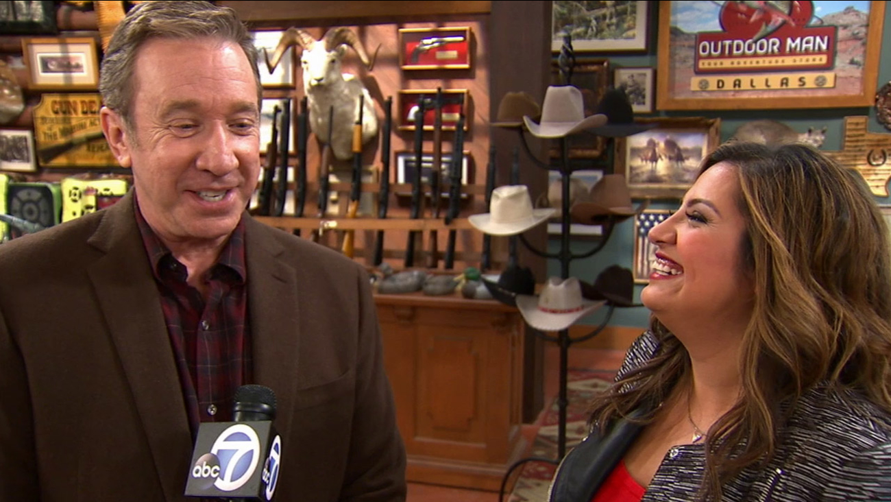 "Comedy worlds collide when ""Last Man Standing"" star Tim Allen and ""Cristela"" star Cristela Alonzo join forces for a special crossover episode on ABC."