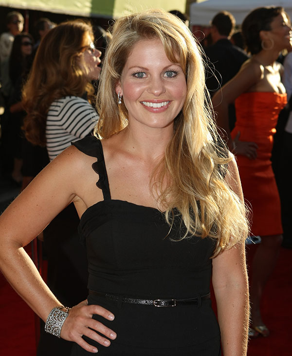 <div class='meta'><div class='origin-logo' data-origin='AP'></div><span class='caption-text' data-credit='AP'>THEN: Candace Cameron Bure at the World Premiere of Touchstone Pictures' &#34;Swing Vote&#34; on July 24, 2008 at the El Capitan Theatre in Hollywood, CA.</span></div>