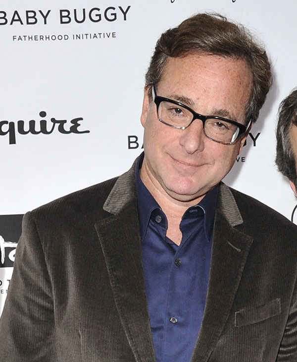 <div class='meta'><div class='origin-logo' data-origin='AP'></div><span class='caption-text' data-credit='AP'>NOW: Bob Saget attends the Inaugural Los Angeles Baby Buggy Fatherhood Lunch at Palm Restaurant on Wednesday, March 4, 2015, in Beverly Hills, Calif.</span></div>