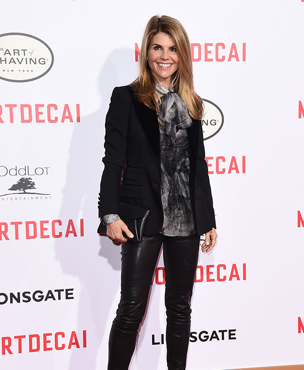 <div class='meta'><div class='origin-logo' data-origin='AP'></div><span class='caption-text' data-credit='AP'>NOW: Lori Loughlin arrives at the Los Angeles premiere of &#34;Mortdecai&#34; at the TCL Chinese Theatre on Wednesday, Jan. 21, 2015.</span></div>