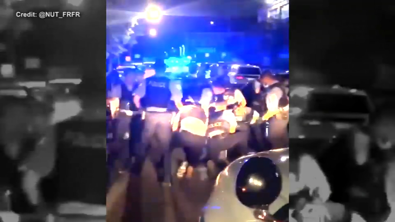2 Chicago police officers injured while breaking up large crowd in Englewood , other social distancing violations reported over weekend and on Memorial Day