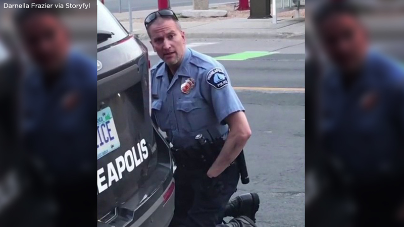 George Floyd Killed Fake News Swirls Around Officer Derek Chauvin Including Trump Rally Claim Abc11 Raleigh Durham