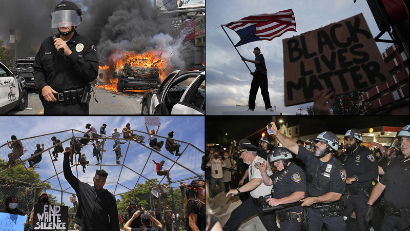 George Floyd protest: US cities assess protest damage, await ...