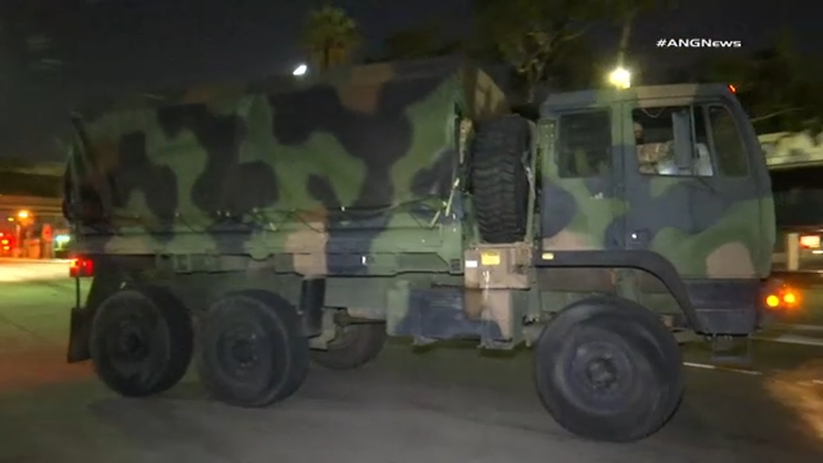 abc7.com: National Guard patrols Los Angeles to help quell chaos following violent protests, looting