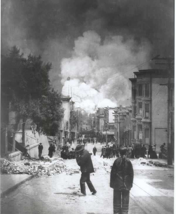 "<div class=""meta image-caption""><div class=""origin-logo origin-image ""><span></span></div><span class=""caption-text"">The 1906 quake and resulting fires destroyed Chinatown, and some City leaders wanted to use this opportunity to relocate Chinatown out of the downtown area. (CHSA)</span></div>"