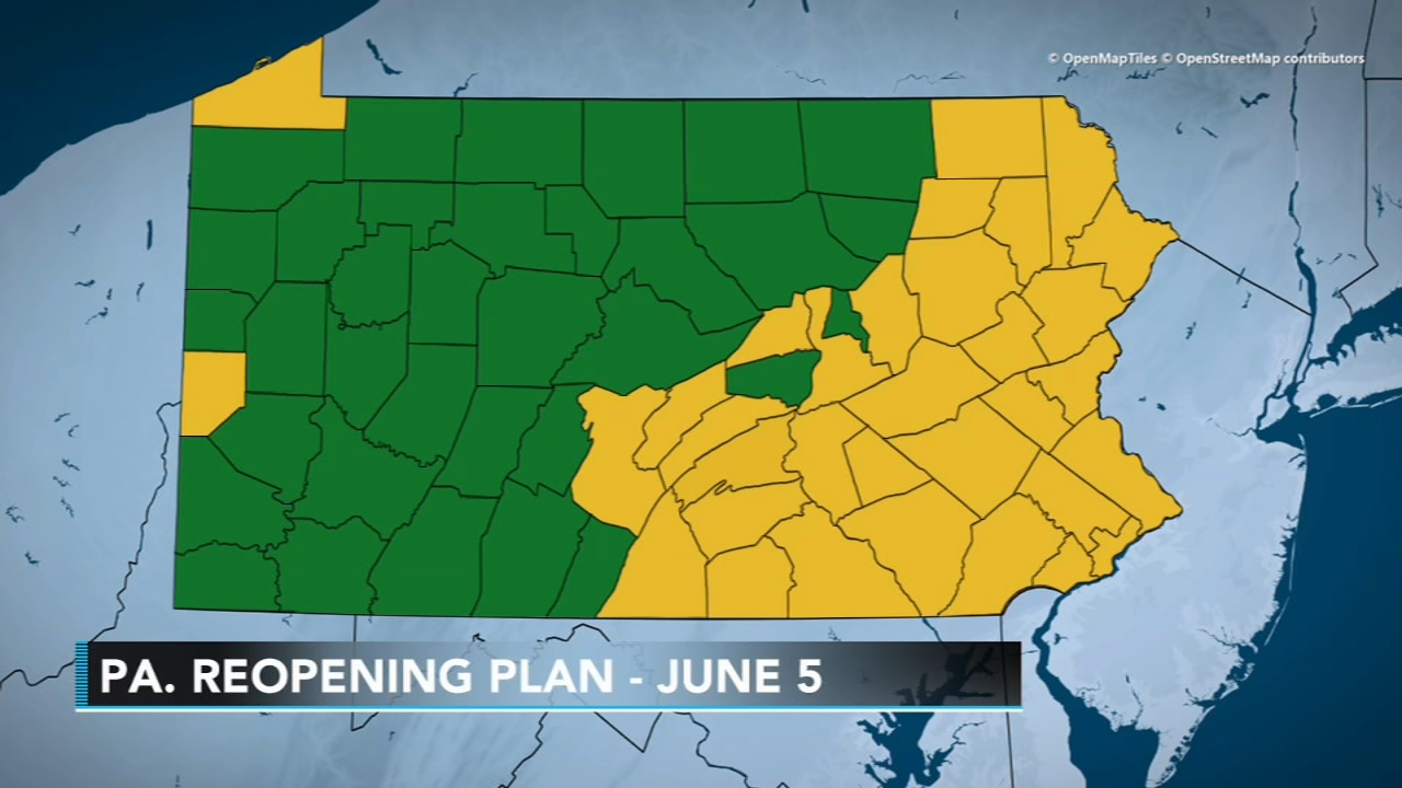 Picture of: Reopen Pennsylvania Stay At Home Order Expires Philadelphia Area Moves To Yellow Phase As Coronavirus Pandemic Continues 6abc Philadelphia