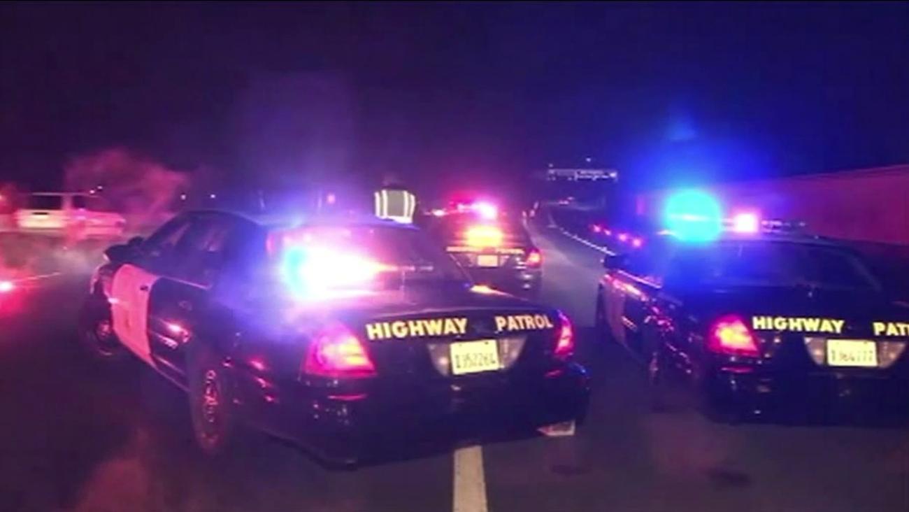 Pedestrian struck on Highway 101 in San Jose
