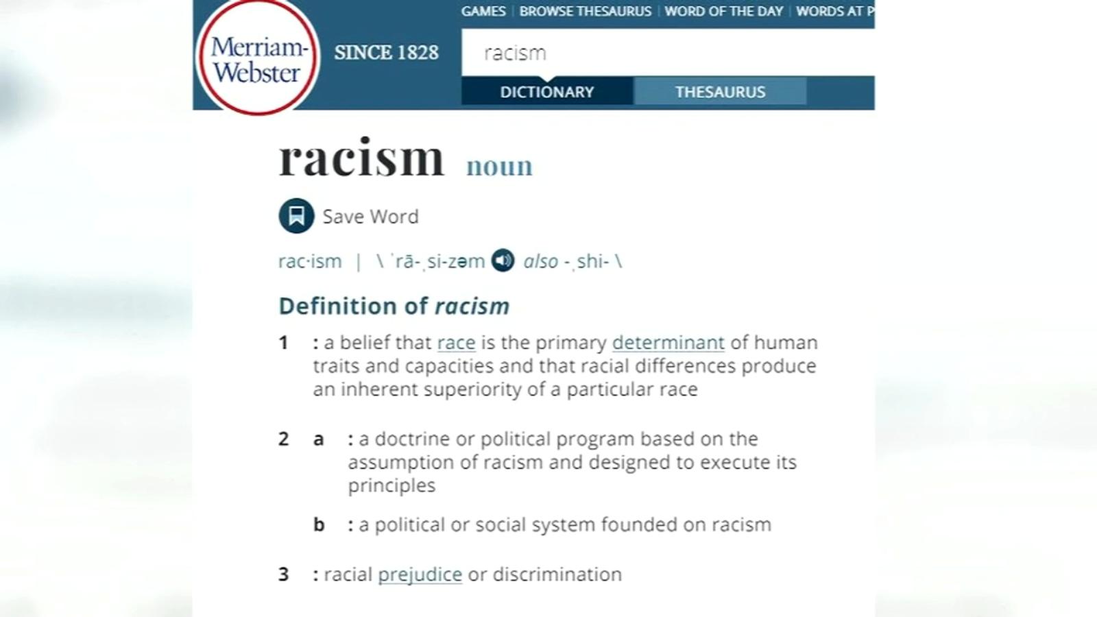 Missouri woman prompts Merriam-Webster to redefine racism