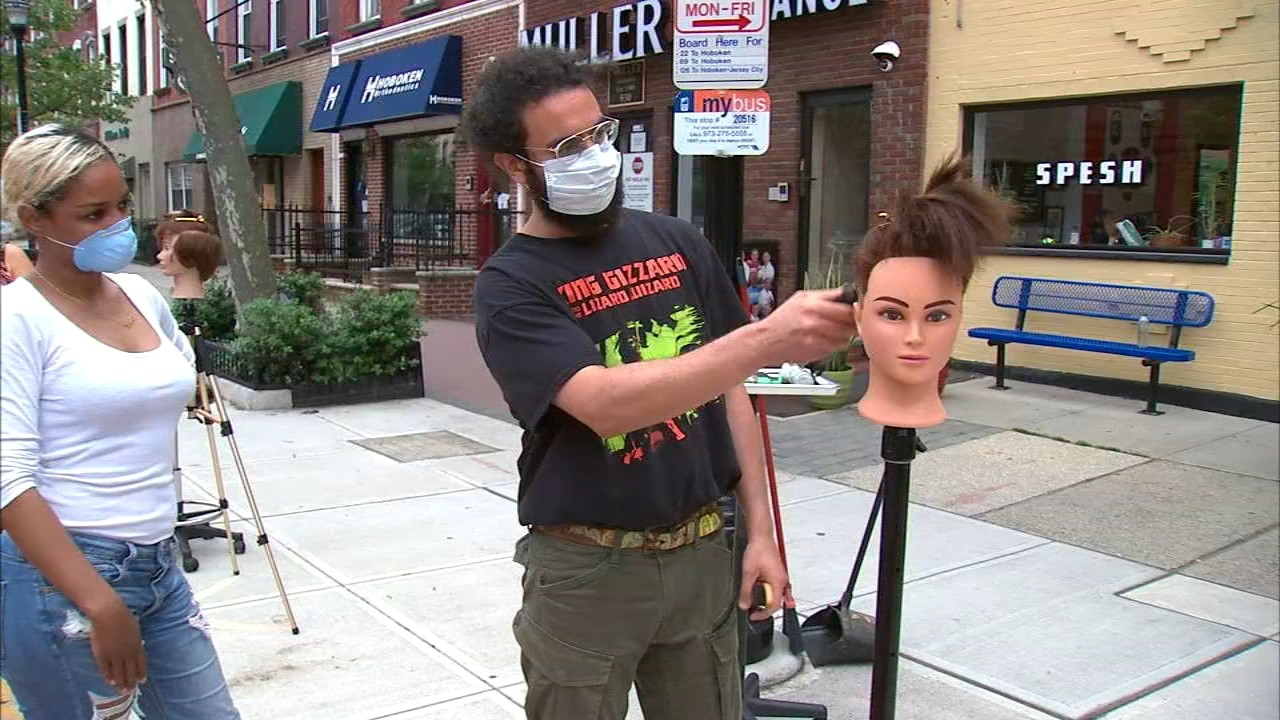 NJ barbershop owner creating buzz over haircutting strategy