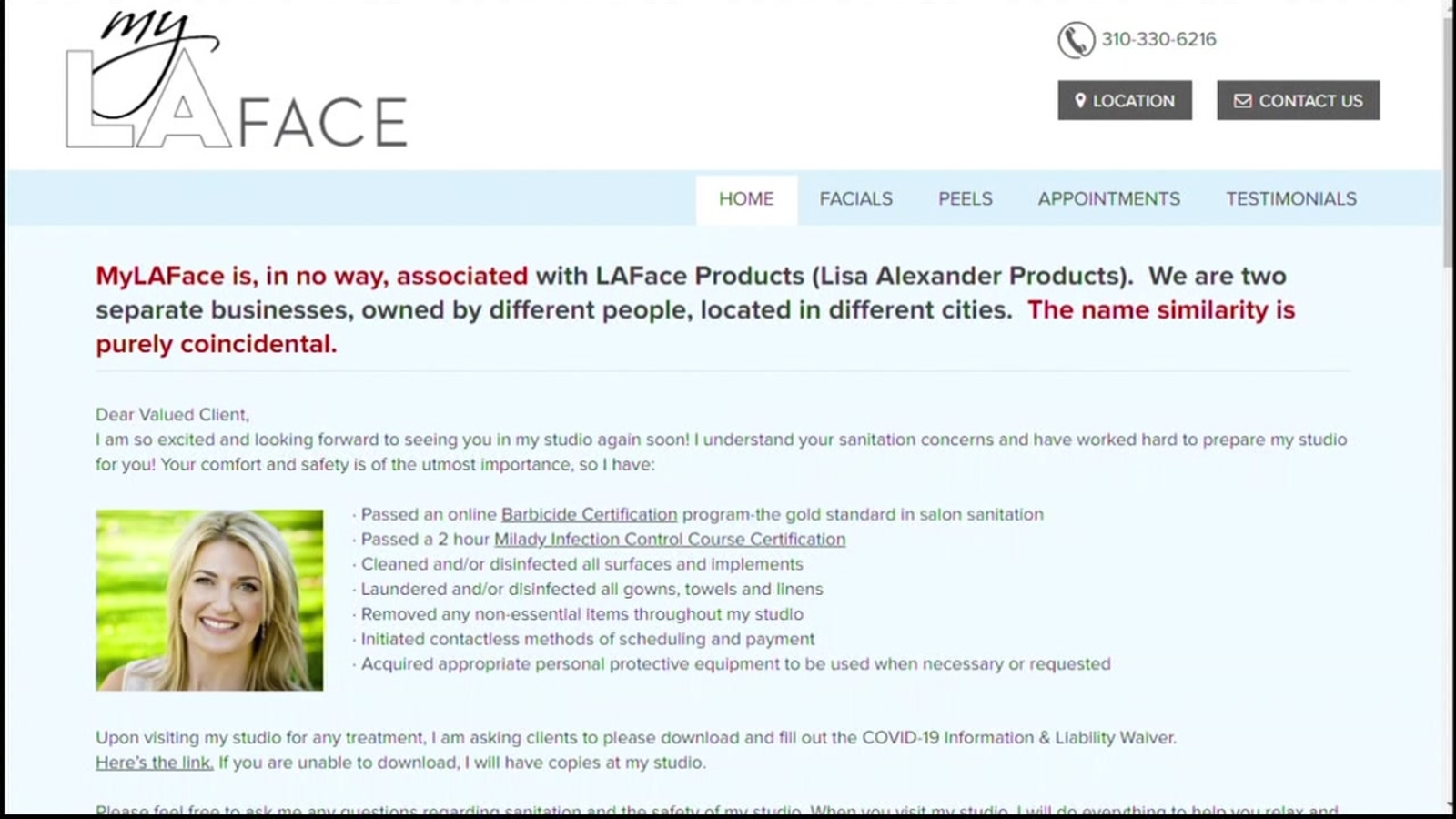 Los Angeles Business Owner Targeted Accused For Being Racist After Many Confuse My La Face With Lisa Alexander S Skincare Company Laface Abc7 San Francisco