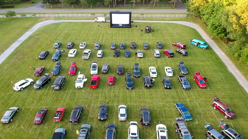 Boxcar Company Has Turned To The Entertainment Business To Stay Afloat Bringing Drive In Movies All Across New Jersey Abc7 Los Angeles