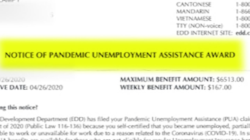 California unemployment: Woman gets EDD letters awarding and denying  benefits in the same day - ABC7 Los Angeles