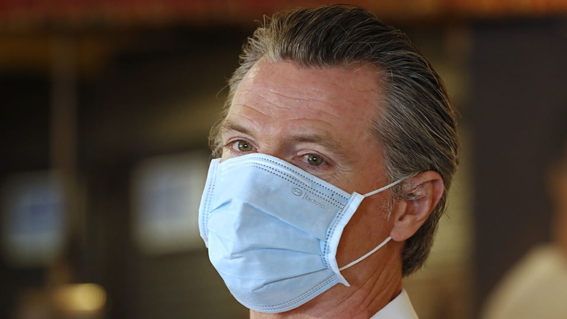 Gavin Newsom Coronavirus Update Today Governor Considering Curfew As Ca Covid 19 Cases Spike 40 Counties Move To More Restrictive Tiers Abc7 Los Angeles