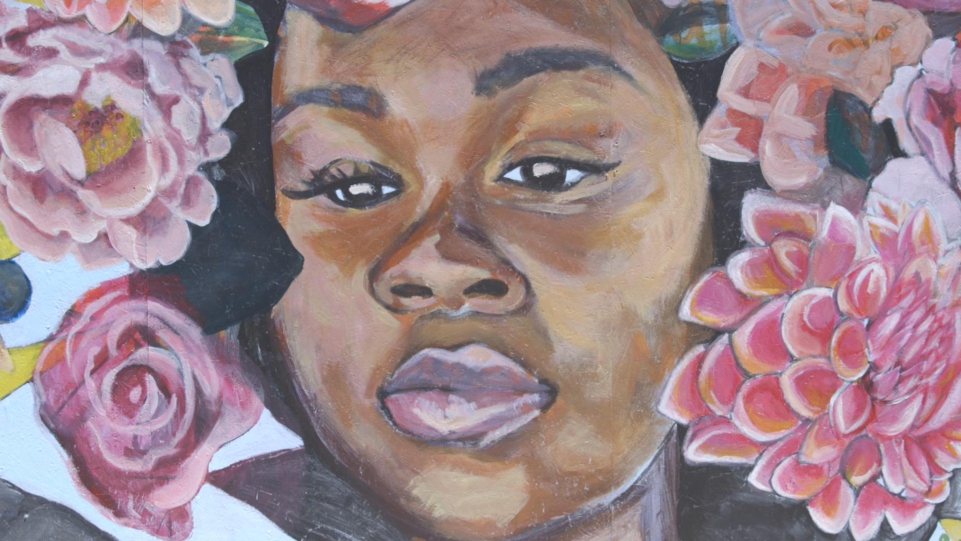 Oakland Youth Organization The People S Conservatory Paints Mural In Honor Of Breonna Taylor Abc7 Los Angeles