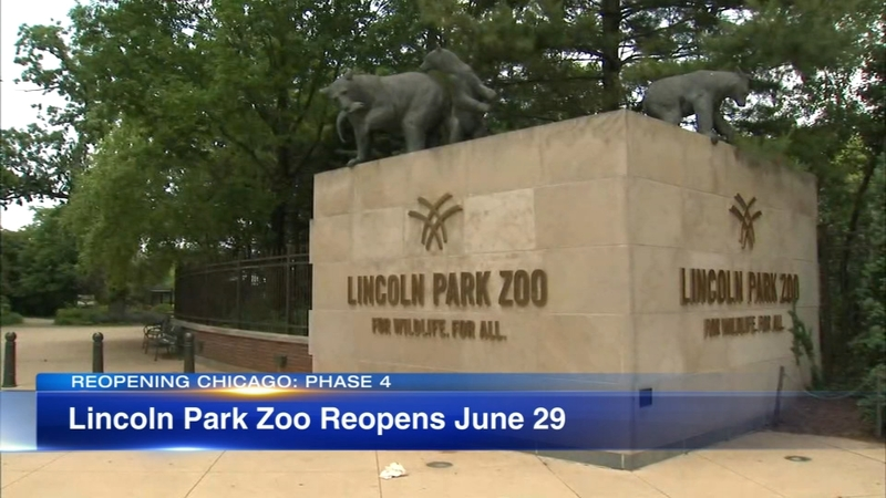 Chicago Lincoln Park Zoo Brookfield Zoo Announces Reopening Dates After Closing Due To Coronavirus Pandemic Abc7 Chicago