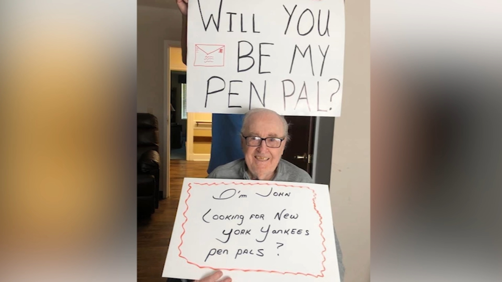 North Carolina assisted living home residents missing friends, family ask for pen pals amid COVID-19
