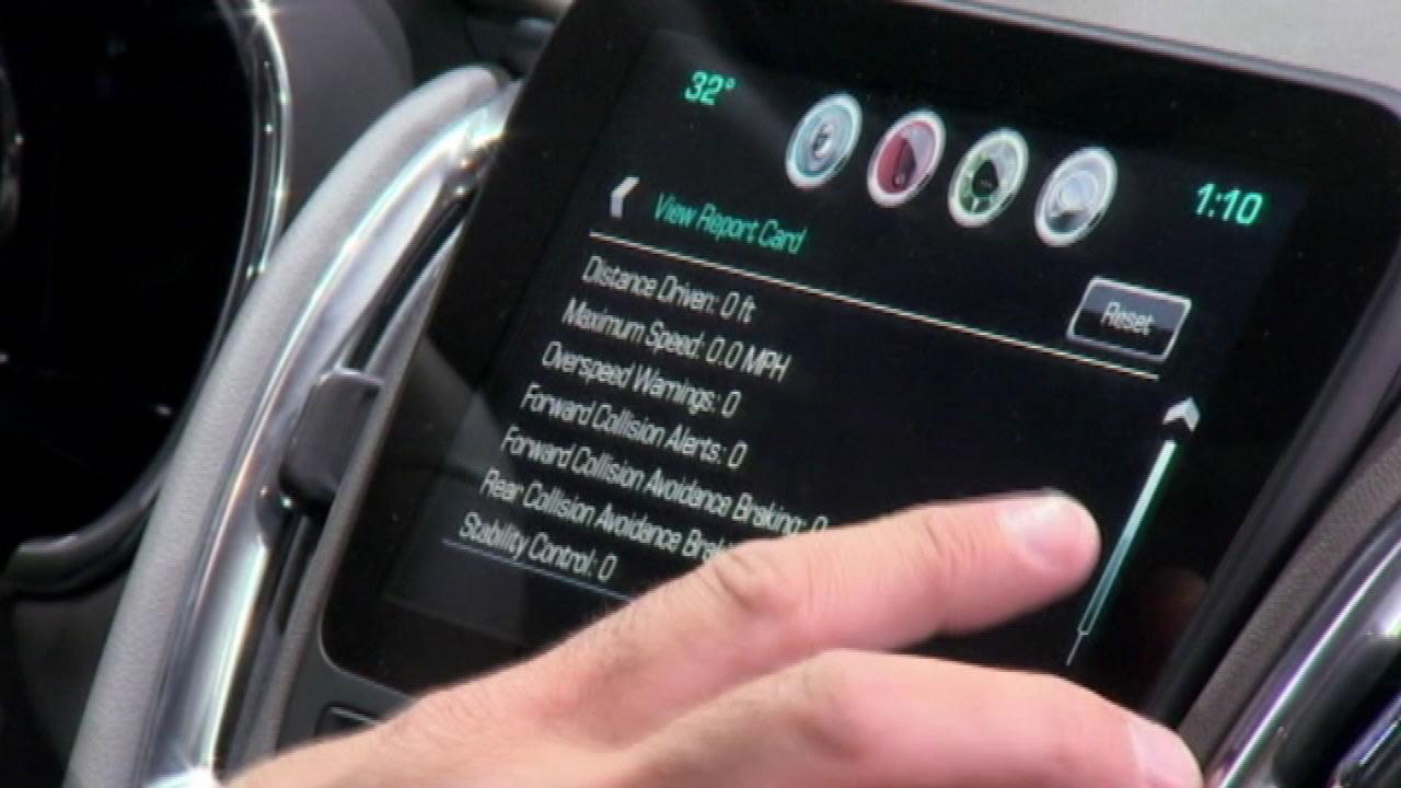Teen driving monitor