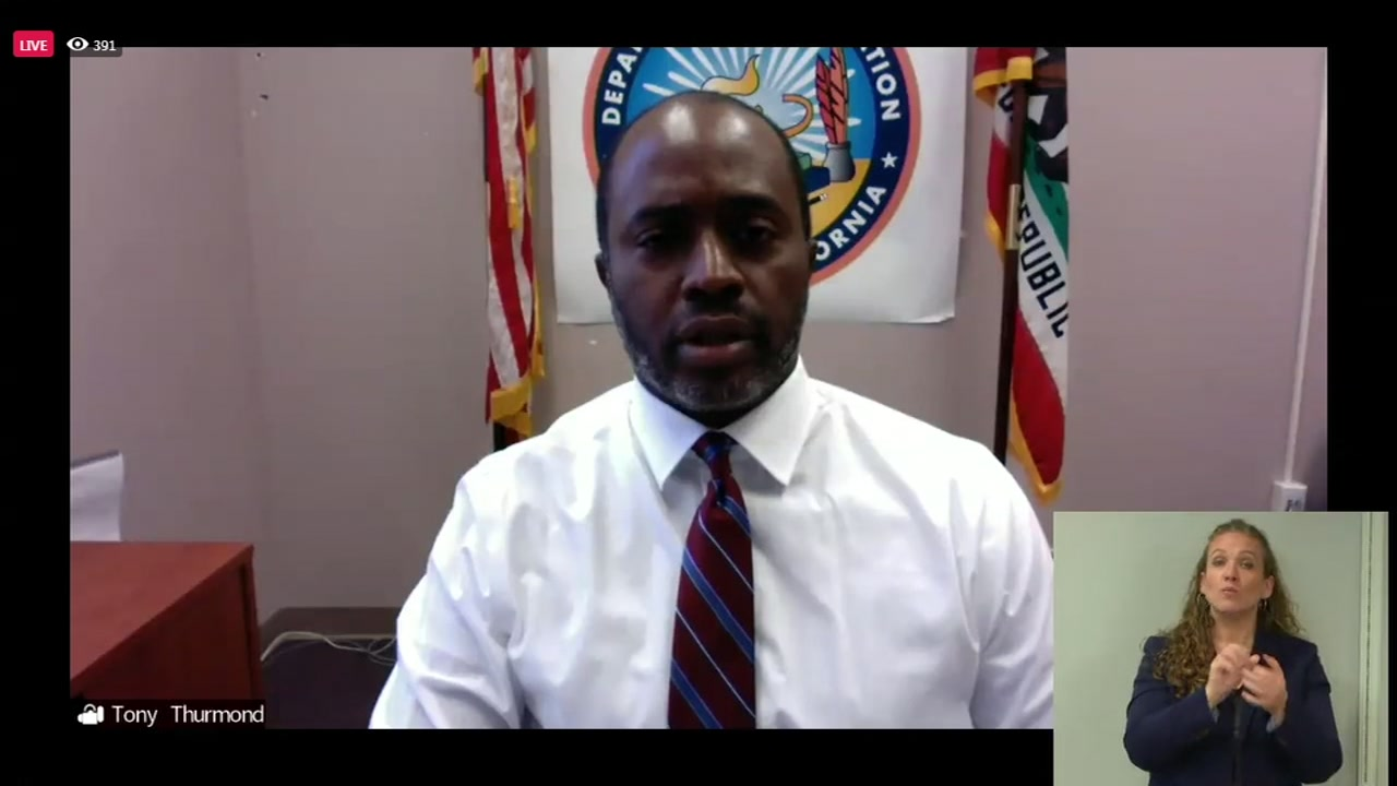 State Superintendent Tony Thurmond to give update on reopening schools and budget
