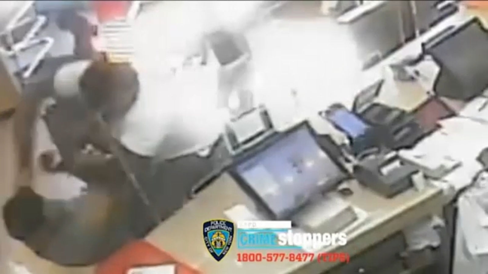 Video shows woman violently attacked inside Popeyes in Bronx