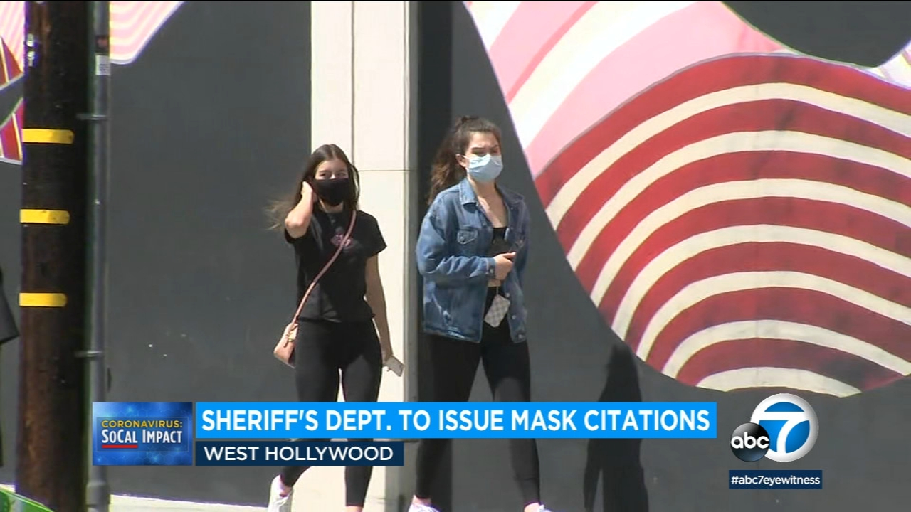 Not wearing a mask in West Hollywood could cost you $300