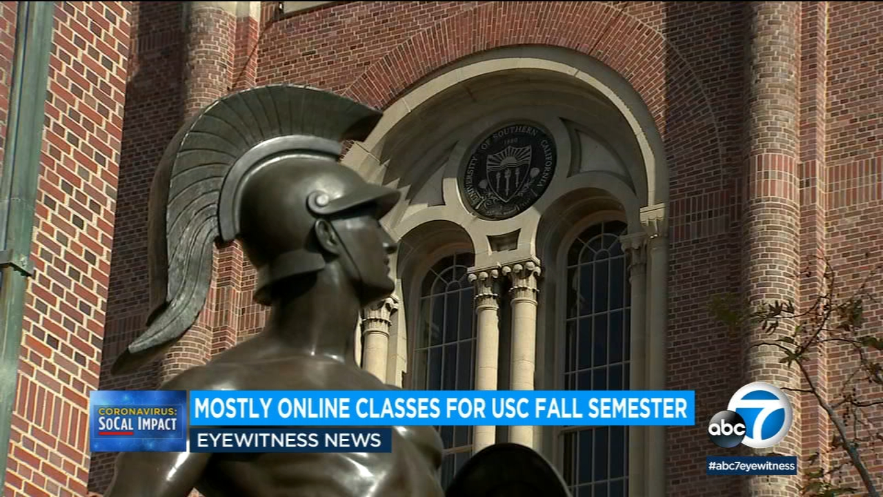 USC to resume most classes online in fall semester amid coronavirus pandemic