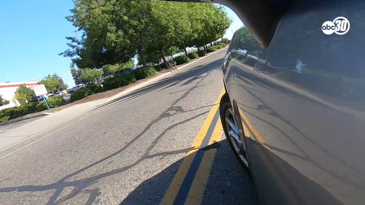 Know the Road with the CHP: Can I turn over a double yellow line?