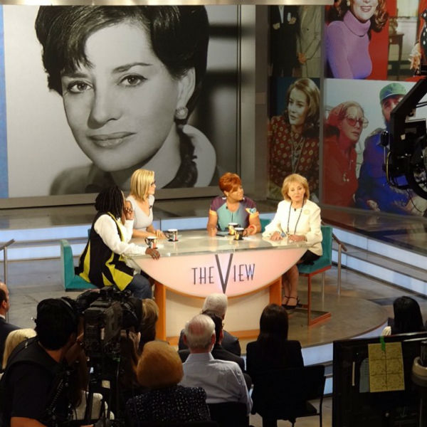 """<div class=""""meta image-caption""""><div class=""""origin-logo origin-image """"><span></span></div><span class=""""caption-text"""">Photos from Barbara Walters' last day on The View. (WABC Photo/ Sandy Kenyon)</span></div>"""