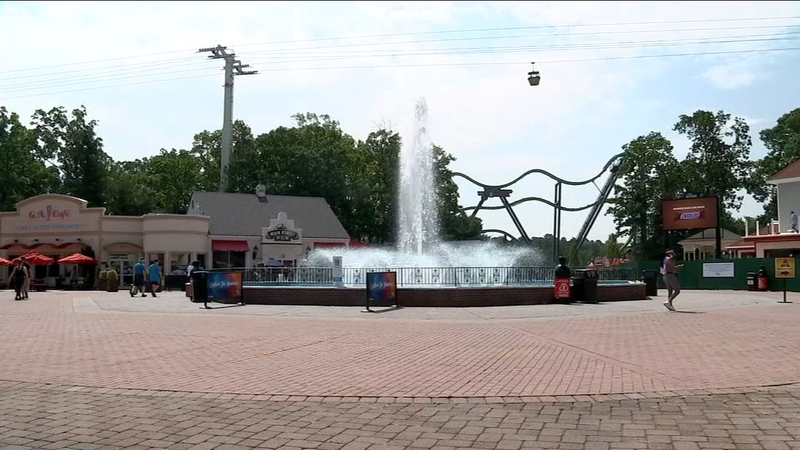 Reopen Nj Six Flags Great Adventure Reopening With Safety Measures Abc7 New York